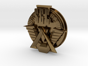 SGC logo. All materials in Polished Bronze
