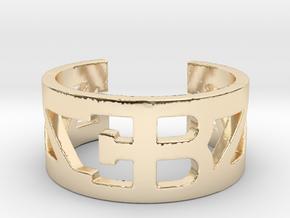 Bugatti Ring Size 10 in 14K Yellow Gold