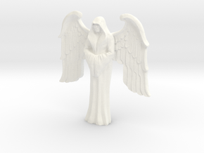 Imperial Saint, winged in White Strong & Flexible Polished