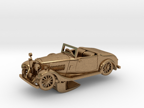 Bentley 1930 4,5L 1:64 in Natural Brass