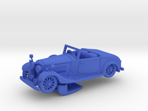 Bentley 1930 4,5L 1:64 in Blue Processed Versatile Plastic