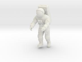 Apollo Astronaut on LM Ladder / 1:32 in White Natural Versatile Plastic