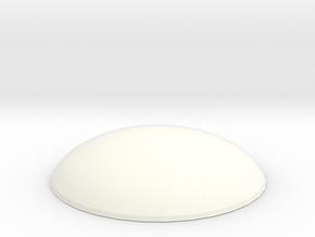 X-men Buckle part B in White Processed Versatile Plastic