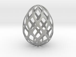 Trellis - Decorative Egg - 2.3 inches in Aluminum