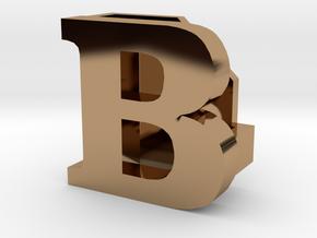 BandBit B1 for Fitbit Flex in Polished Brass