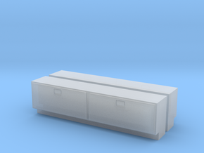 """1/64 Side Tool Box - 1.175"""" long in Smooth Fine Detail Plastic"""