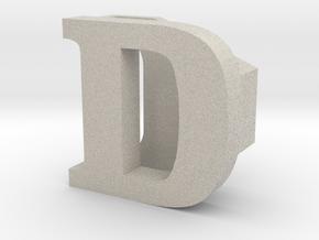 BandBit D1 for Fitbit Flex in Natural Sandstone