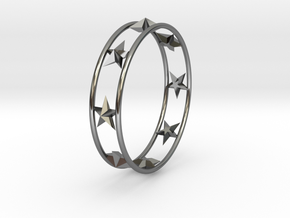 Ring Of Starline 14.1 mm Size 3 in Fine Detail Polished Silver