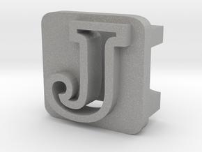 BandBit J for Fitbit Flex in Aluminum