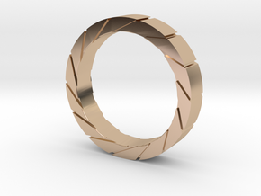 Aperture Ring in 14k Rose Gold