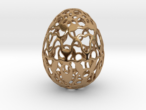 Screen - Decorative Egg - 2.3 inch in Polished Brass