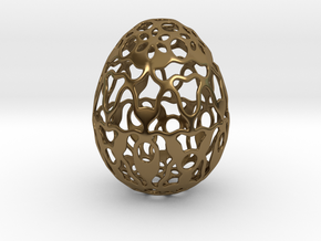 Screen - Decorative Egg - 2.3 inch in Polished Bronze