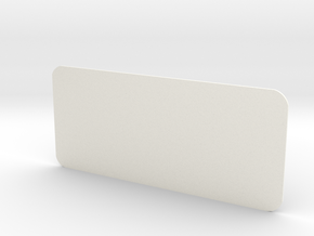 Closed Rear Side Window Left D90 D110 Gelande 1:10 in White Strong & Flexible Polished