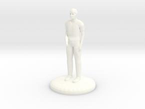 Doctor Bonesaw 25mm version in White Processed Versatile Plastic
