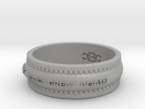 size 8 1/2 Make America Great Again Band in Aluminum