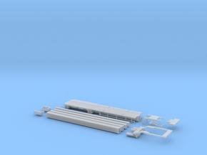 N 01 Flügeltransporter ähnlich Nooteboom OVB-67-3 in Smooth Fine Detail Plastic