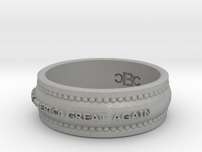 size 8 Make America Great Again band in Aluminum