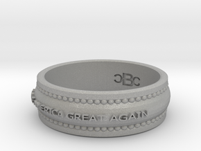 size 9 1/2 Make America Great Again Band in Aluminum