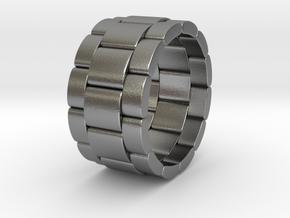 Tibaldo - Ring in Natural Silver: 9.5 / 60.25