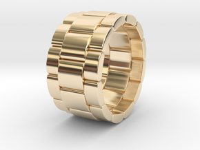 Tibaldo - Ring in 14k Gold Plated Brass: 9.5 / 60.25