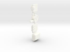 Weaponpack1-L in White Processed Versatile Plastic