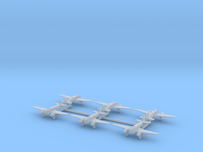 Caproni Ca.313 (with landing gear) 1/700 in Smooth Fine Detail Plastic