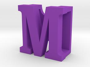 BandBit M, Fitbit Flex (Fits parallel to strap.) in Purple Processed Versatile Plastic