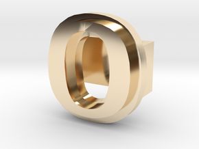 BandBit O for Fitbit Flex in 14k Gold Plated Brass