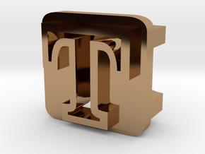 BandBit T1 for Fitbit Flex in Polished Brass
