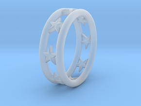 Ring Of Linestars 14.5 mm Size 3 0.5 in Smooth Fine Detail Plastic