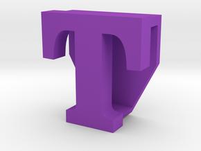 BandBit T2, Fitbit Flex (Fits parallel to strap.) in Purple Processed Versatile Plastic