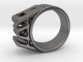 Asguard 8½-9 in Polished Nickel Steel