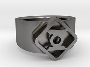 Lantern 9½-10 in Polished Nickel Steel
