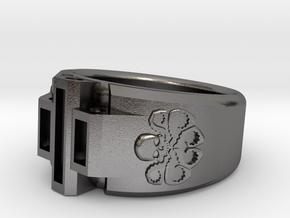 Hydra Size 10-10½ in Polished Nickel Steel