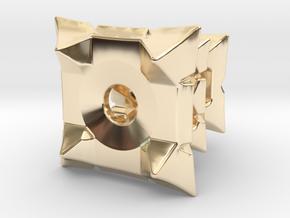 Thresh Tritium Lantern (All Materials) in 14k Gold Plated Brass