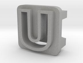 BandBit U2 for Fitbit Flex in Aluminum