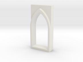 building detail series _ Gothic Window ype 0 in White Natural Versatile Plastic