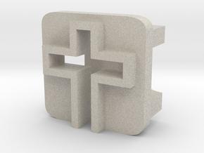 BandBit Cross for Fitbit Flex in Natural Sandstone