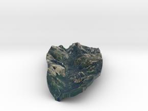 Yosemite Valley Full Color Model 1:100,000 in Full Color Sandstone