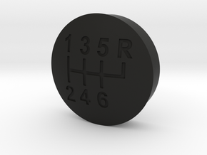 Sterling's Shifter Button in Black Natural Versatile Plastic