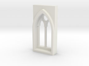 building details series - Gothic Window 5mm Type 2 in White Natural Versatile Plastic