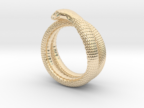 Snake Ring (various sizes) in 14K Yellow Gold