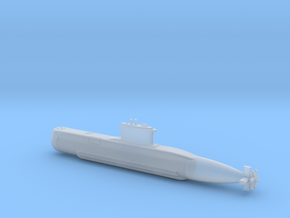 1/600 Type 209 - 1200 class submarine in Smooth Fine Detail Plastic