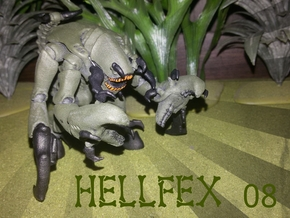 Hellfex 08 Sichelklaue II 28mm in White Strong & Flexible Polished