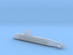 1/600 Scorpene class submarine in Smooth Fine Detail Plastic