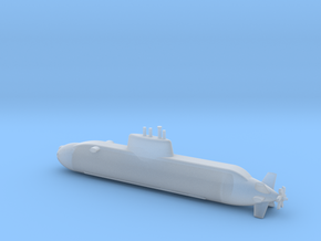 1/600 Dolphin class submarine in Smooth Fine Detail Plastic
