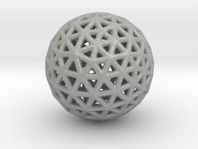 DRAW geo - sphere triangles B in Aluminum