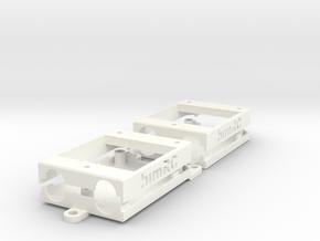 bimRC RFD900 Case Set (no screws) in White Processed Versatile Plastic