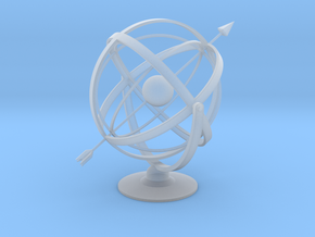 Armillary in Smooth Fine Detail Plastic