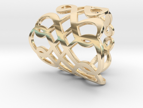 Celtic Knot Ring Size 6 in 14K Yellow Gold